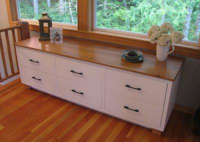 custom designed chest of drawers
